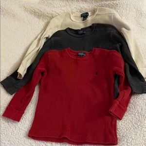 3 Ralph Lauren POLO Thermal shirts